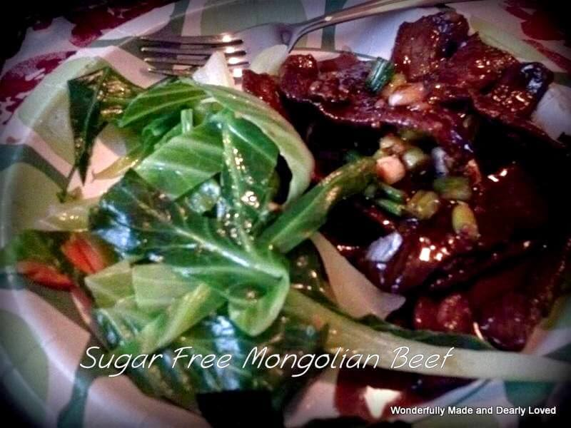 Mongolian Beef (THM S, Low Carb)