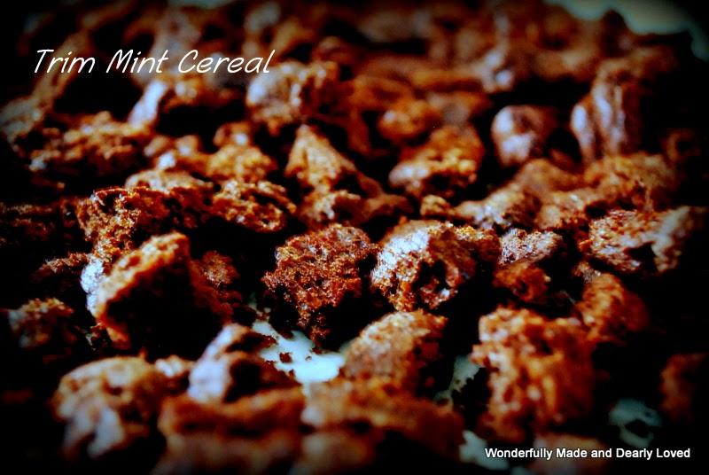 Trim Mint Cereal (Low Carb, THM S)