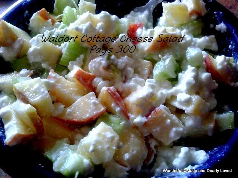 pear waldorf salad wonderfully made and dearly loved
