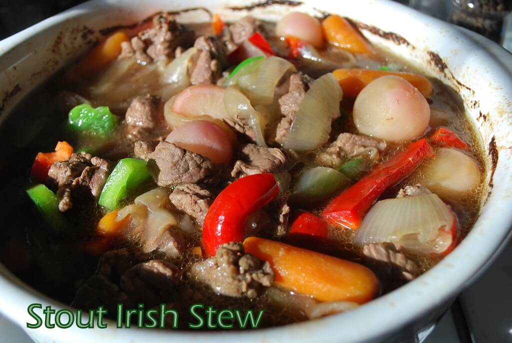 Stout Irish Stew - Wonderfully Made and Dearly Loved