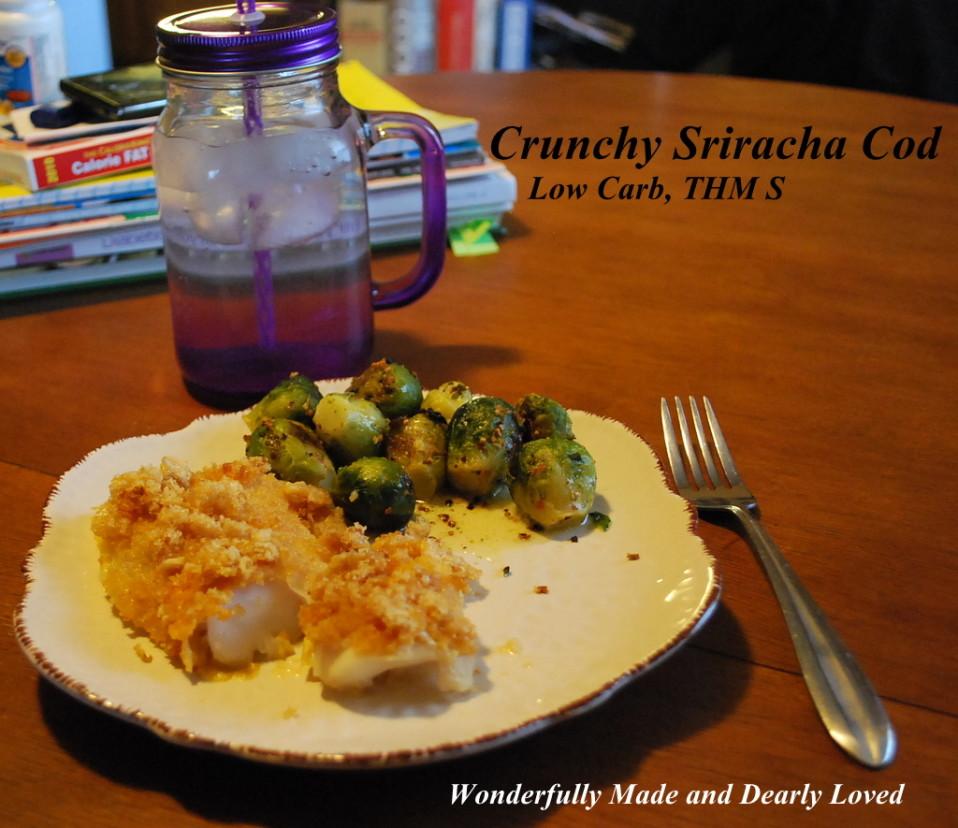 Crunchy Sriracha Cod