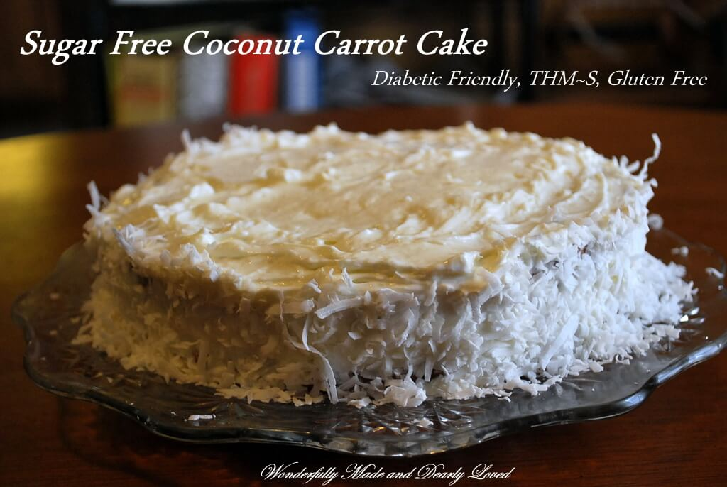 Carrot Cake Made With Sugar Free Cake Mix