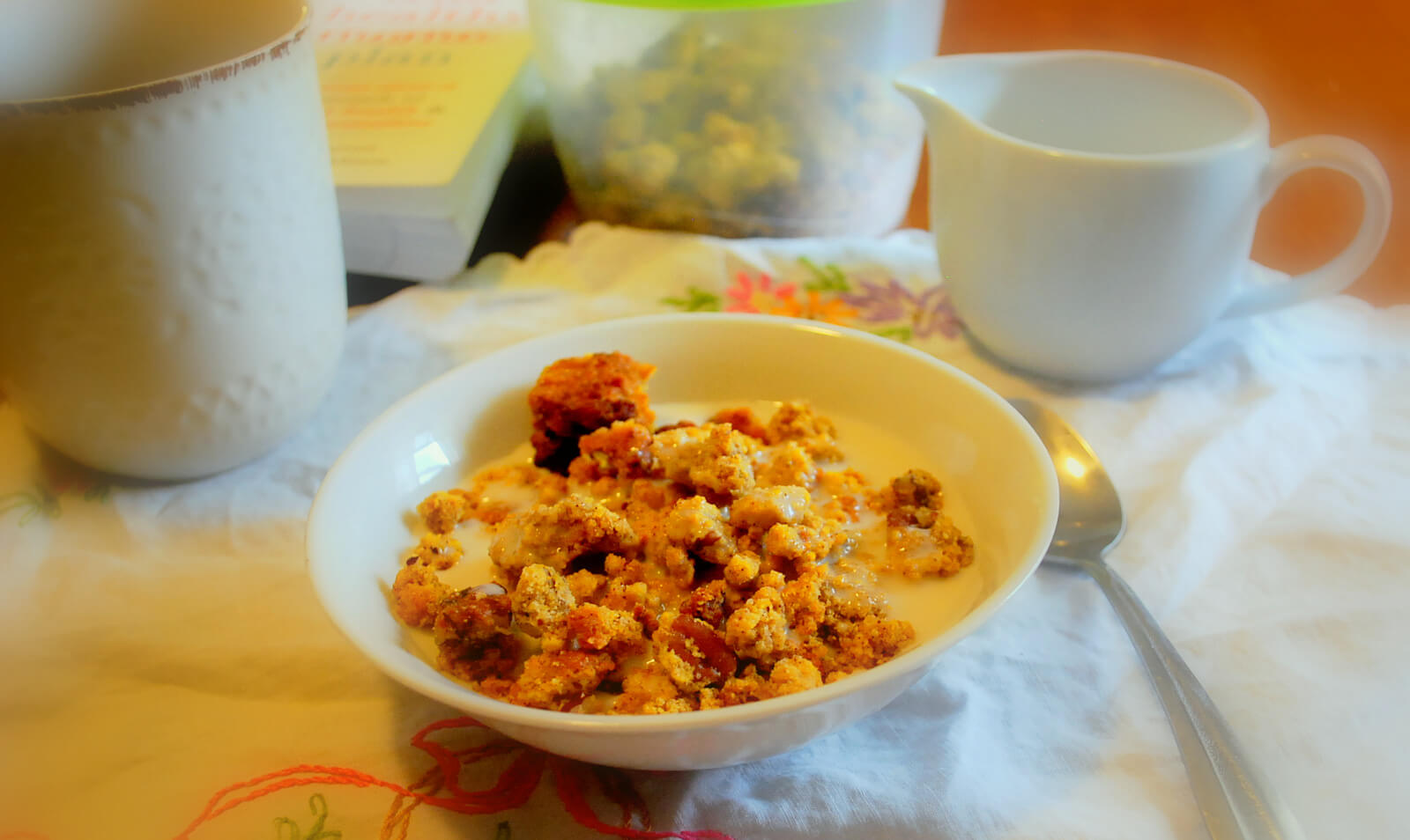 Pumpkin Crumble Cereal Wonderfully Made And Dearly Loved