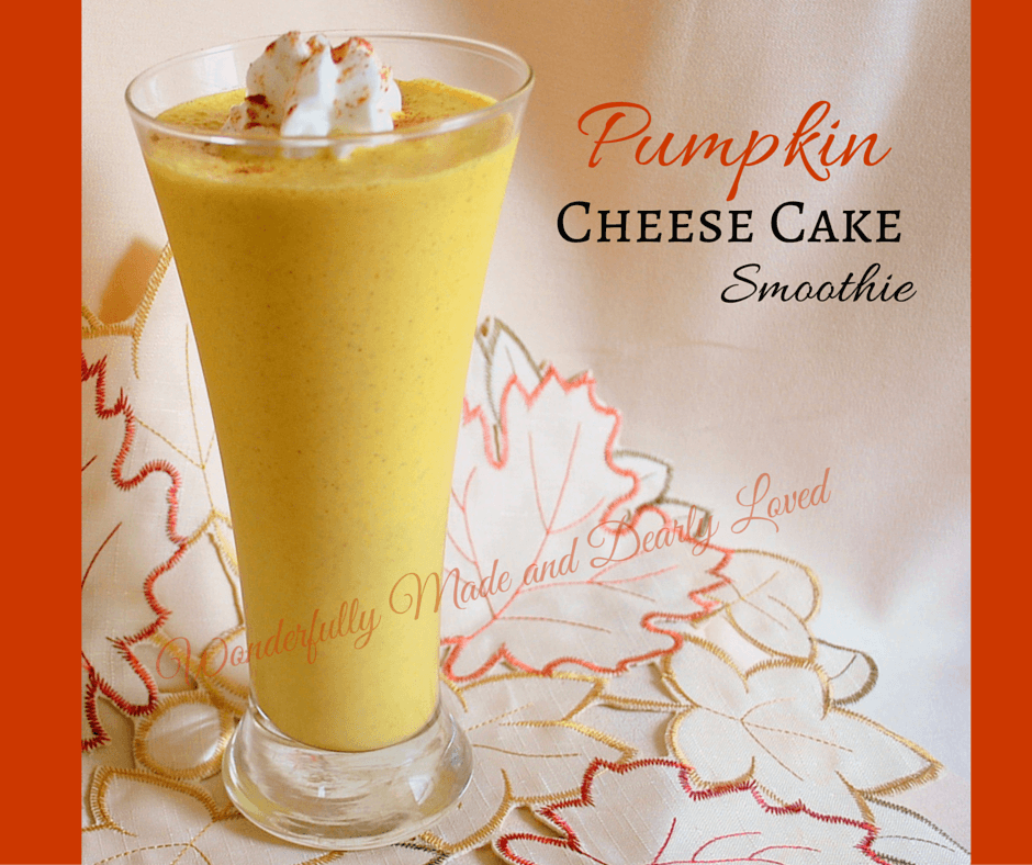 pumpkin Cheese Cake Smoothie (THM S, Low Carb)