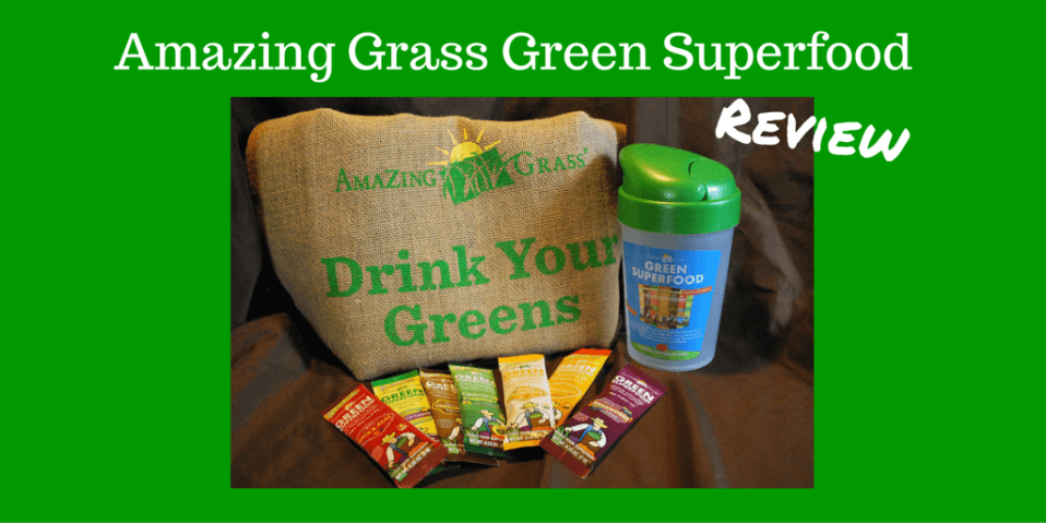 Amazing Grass Green Super Food Mom's Meet Review