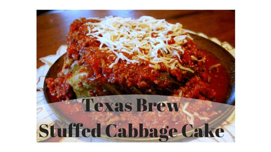 Texas Brew Stuffed Cabbage Cake