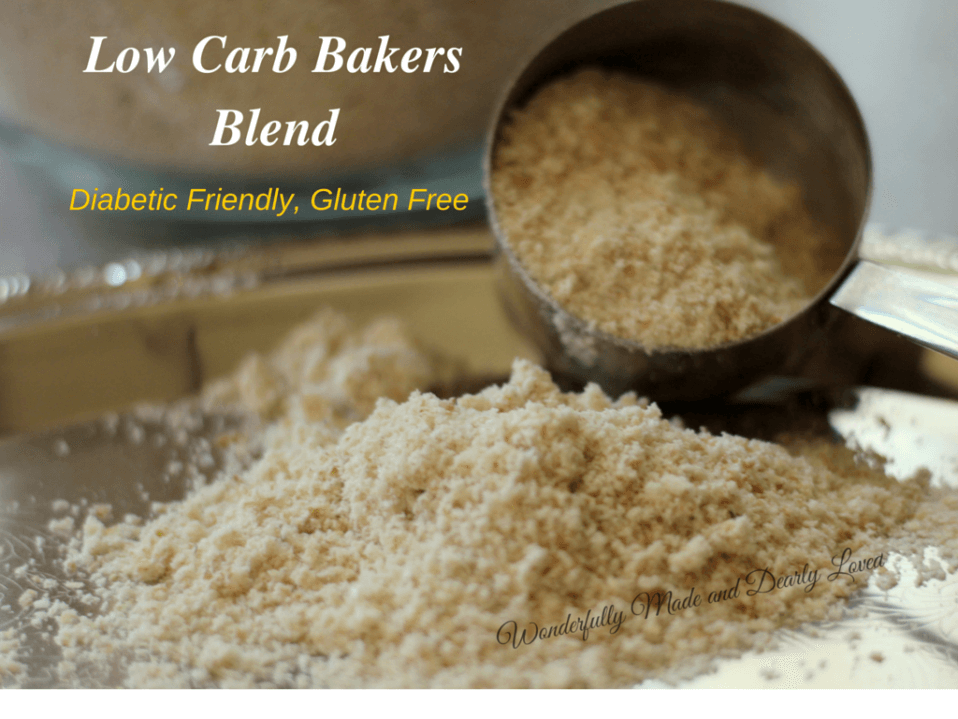 Low Carb Bakers Blend (Gluten Free, THM FP)