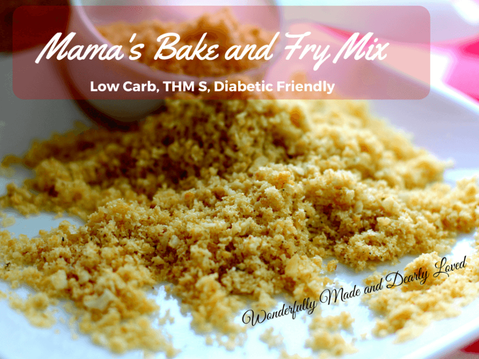 Mama's Bake & Fry Mix (low CArb, Gluten Free, THM S)