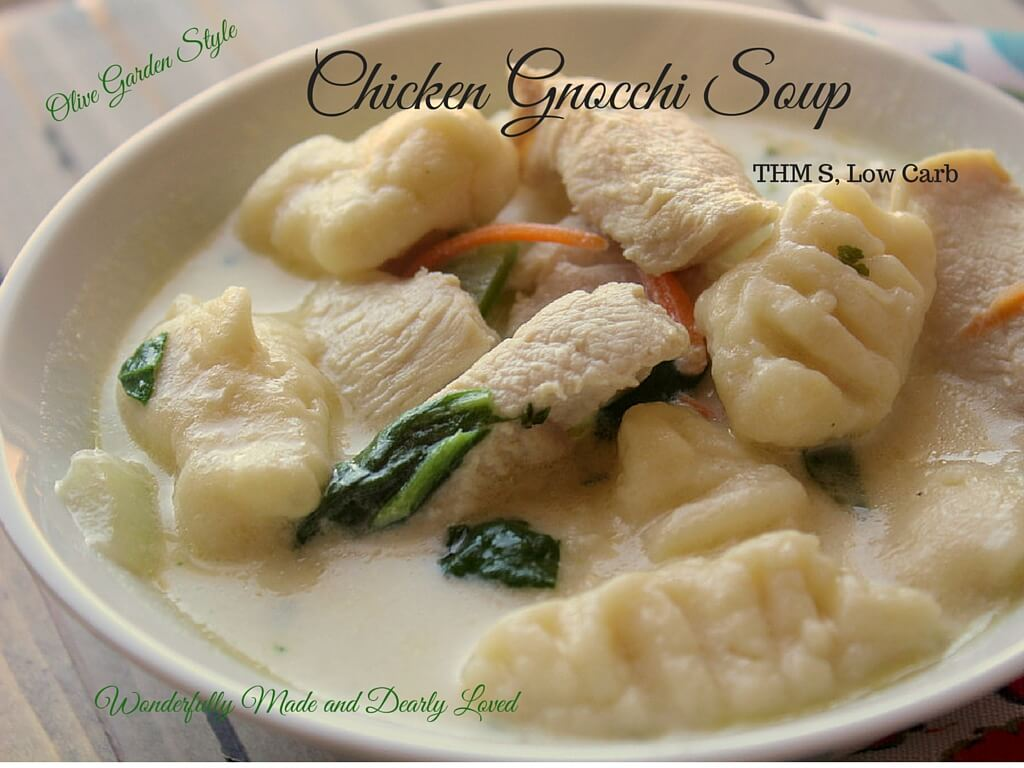 Olive Garden Style Chicken Gnocchi Soup Wonderfully Made And Dearly Loved