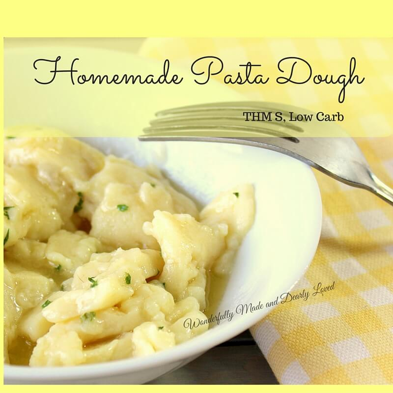 Homemade Pasta Dough - Wonderfully Made and Dearly Loved