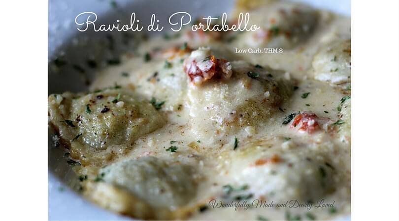Ravioli Di Portobello Wonderfully Made And Dearly Loved