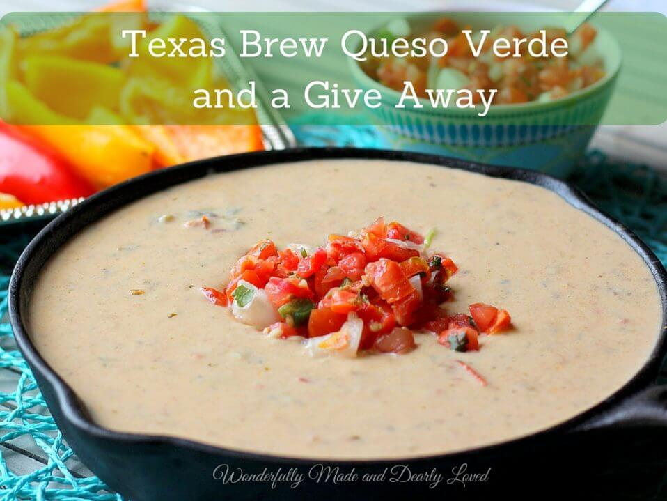 Texas Brew Queso Verde