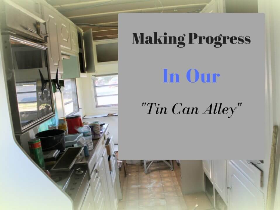 Making Progress in Our Tin Can Alley