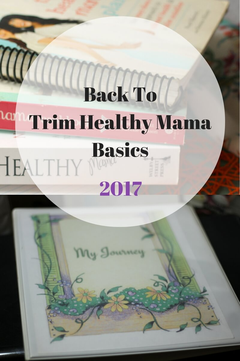 Back to Trim Healthy Mama Basics 2017