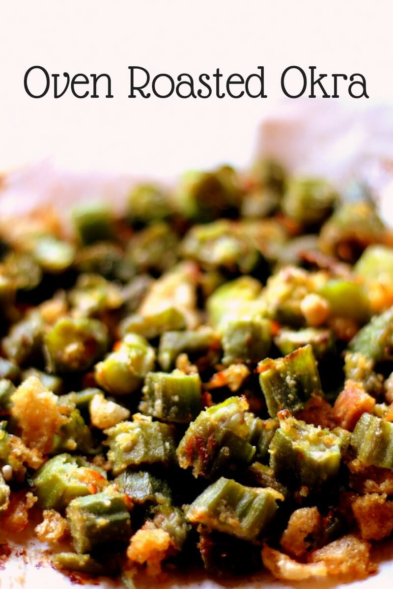 Oven Roasted Okra Wonderfully Made And Dearly Loved