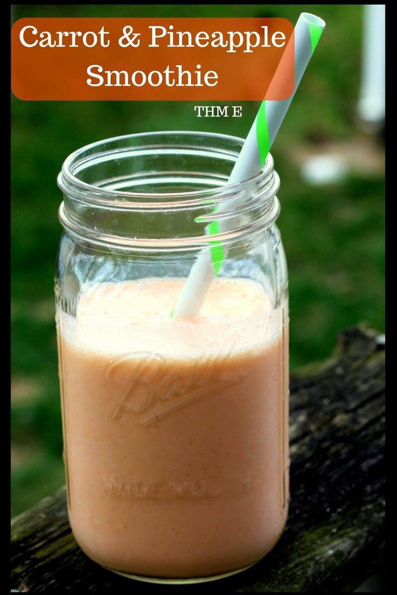 Carrot & Pineapple Smoothie(THM E, THM NSI)