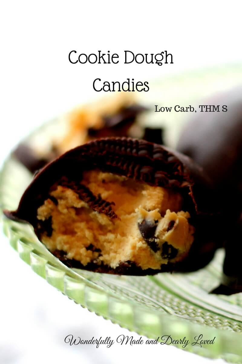 Cookie Dough Candies (Low Carb, THM S)