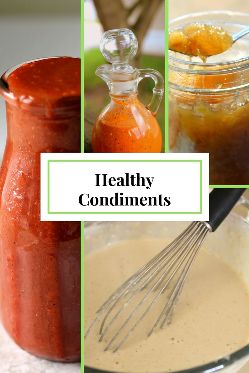 Healthy Condiments to aid in your #TrimHealthyMama journey