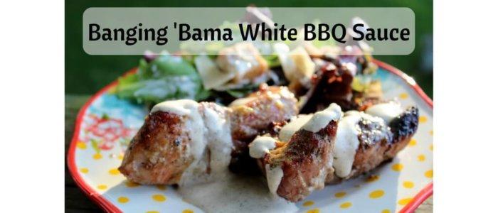 Banging 'Bama White BBQ Sauce
