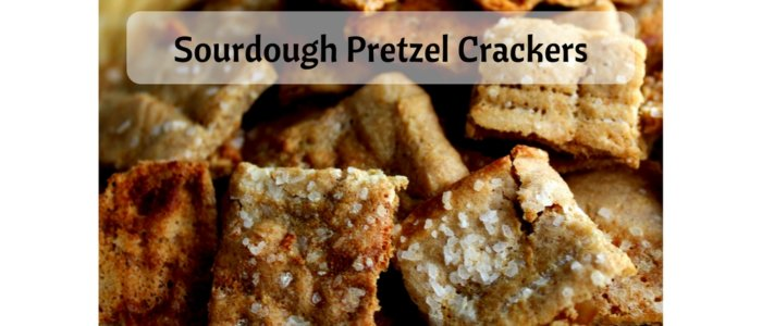 Sourdough Pretzel Crackers (THM E, Low Fat)