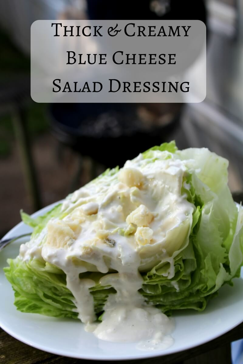 Thick & Creamy Blue Cheese Salad Dressing (THM S, Low Carb)