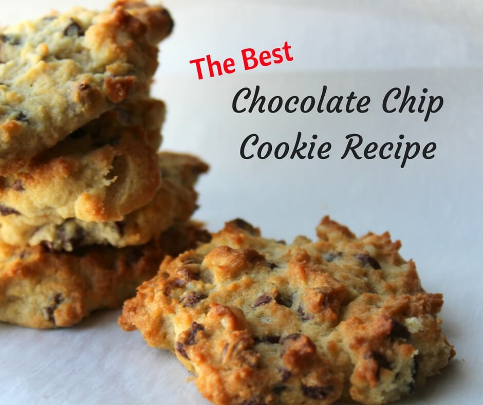 The Best Chocolate Chip Cookie Recipe that I've made in my 3 year Journey to Trim and Healthy.